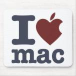 I Love Mac Mouse Pad