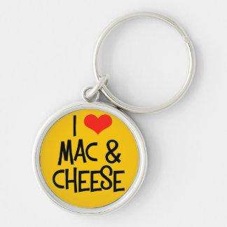 I Love Mac n Cheese Key Chain