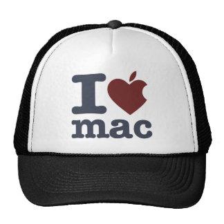 I Love Mac Trucker Hat