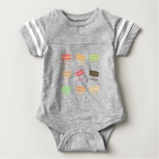 I Love Macaroons@ Baby Bodysuit