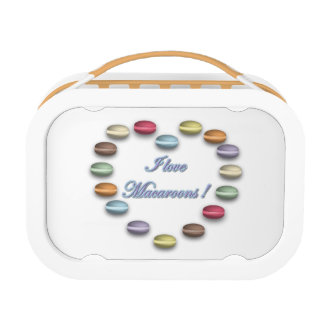 I Love Macaroons Lunchbox