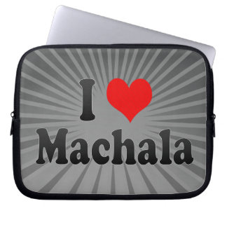 I Love Machala, Ecuador Computer Sleeves