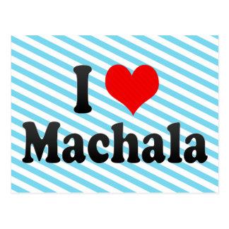 I Love Machala, Ecuador Postcard