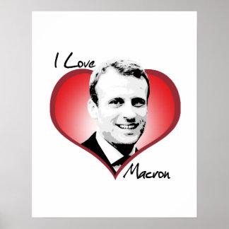 I Love Macron - Poster