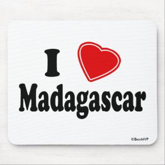 I Love Madagascar Mousepad