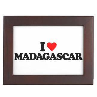 I LOVE MADAGASCAR MEMORY BOXES