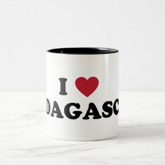 I Love Madagascar Two-Tone Coffee Mug