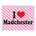 I Love Madchester Postcard