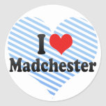I Love Madchester Stickers