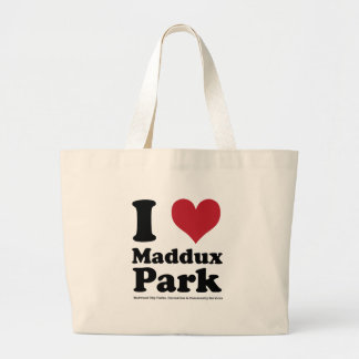 I LOVE Maddux Park Jumbo Tote Bag
