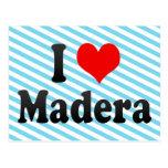 I Love Madera, United States Postcard