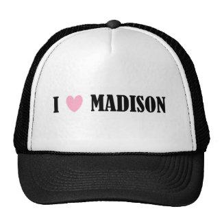 I LOVE MADISON HAT