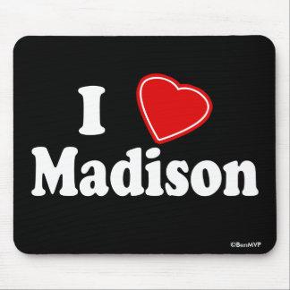 I Love Madison Mouse Pad