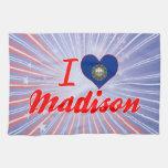 I Love Madison, New Hampshire Kitchen Towels