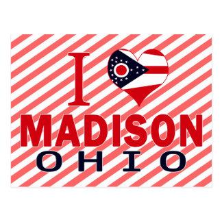 I love Madison, Ohio Postcard