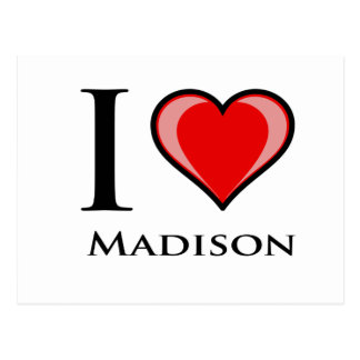 I Love Madison Postcard