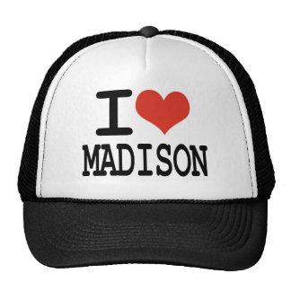 I love Madison Trucker Hat