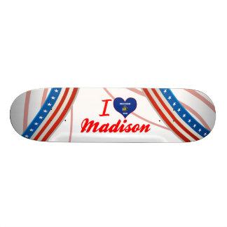 I Love Madison, Wisconsin Skateboard Deck