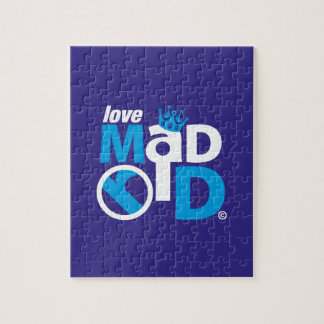 I Love Madrid Best Ever Club Jigsaw Puzzle
