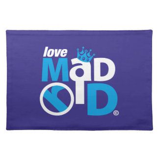 I Love Madrid Best Ever Club Placemat