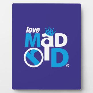 I Love Madrid Best Ever Club Plaque