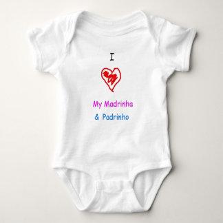 I love madrinha and padrinho tshirts