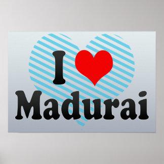 I Love Madurai, India Poster
