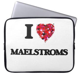 I Love Maelstroms Computer Sleeves