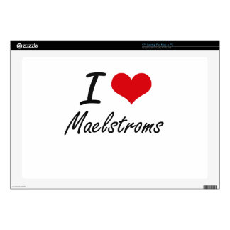 """I Love Maelstroms Decals For 17"""" Laptops"""