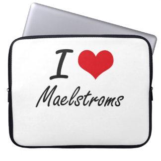 I Love Maelstroms Laptop Computer Sleeve