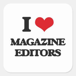 I love Magazine Editors Stickers