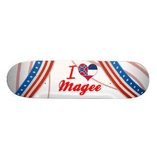 I Love Magee, Mississippi Skateboard Deck