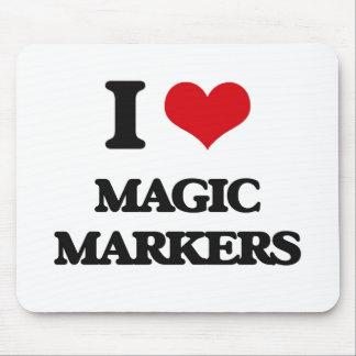 I Love Magic Markers Mousepad