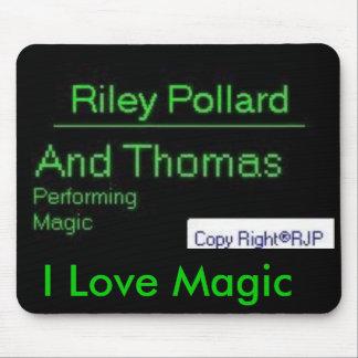 I Love Magic Mosepad Mouse Pad