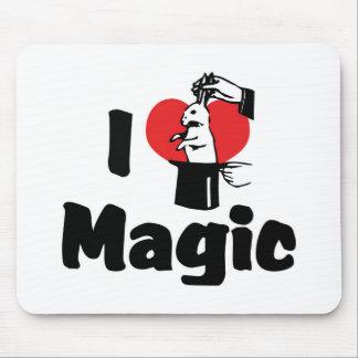 I Love Magic Mouse Pad