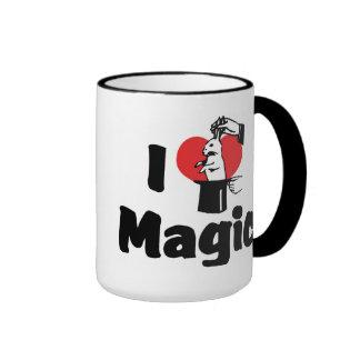 I Love Magic Ringer Mug