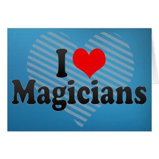 I Love Magicians Card