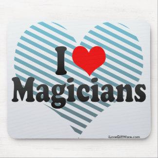I Love Magicians Mouse Pad