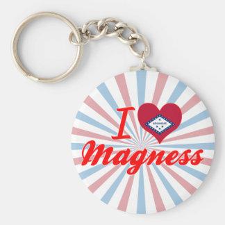 I Love Magness, Arkansas Key Chains