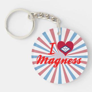 I Love Magness, Arkansas Acrylic Key Chains