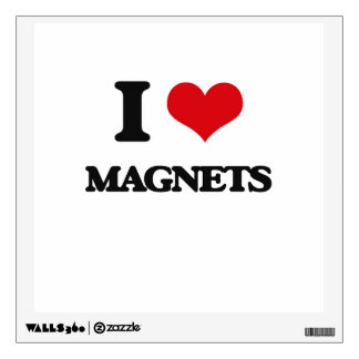 I Love Magnets Room Decal