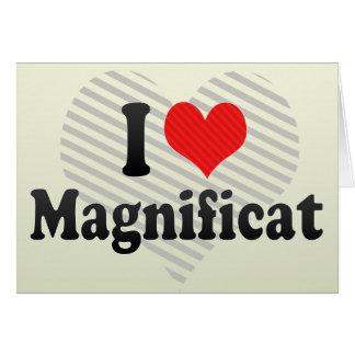 I Love Magnificat Card