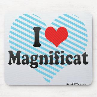 I Love Magnificat Mousepads