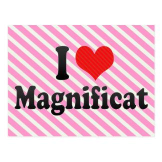 I Love Magnificat Post Card