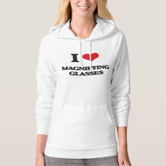 I Love Magnifying Glasses Hoodie