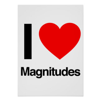 i love magnitudes print