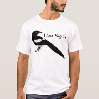I Love Magpies T-Shirt