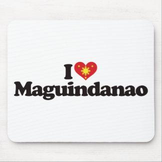 I Love Maguindanao Mouse Pad