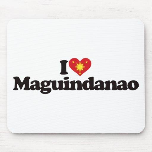 I Love Maguindanao Mousepad