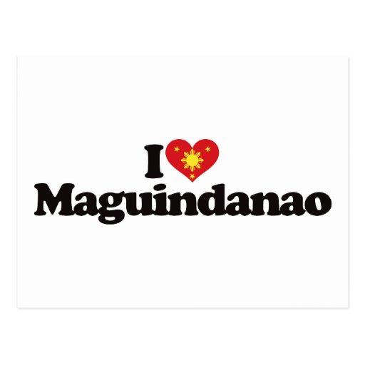 I Love Maguindanao Postcard